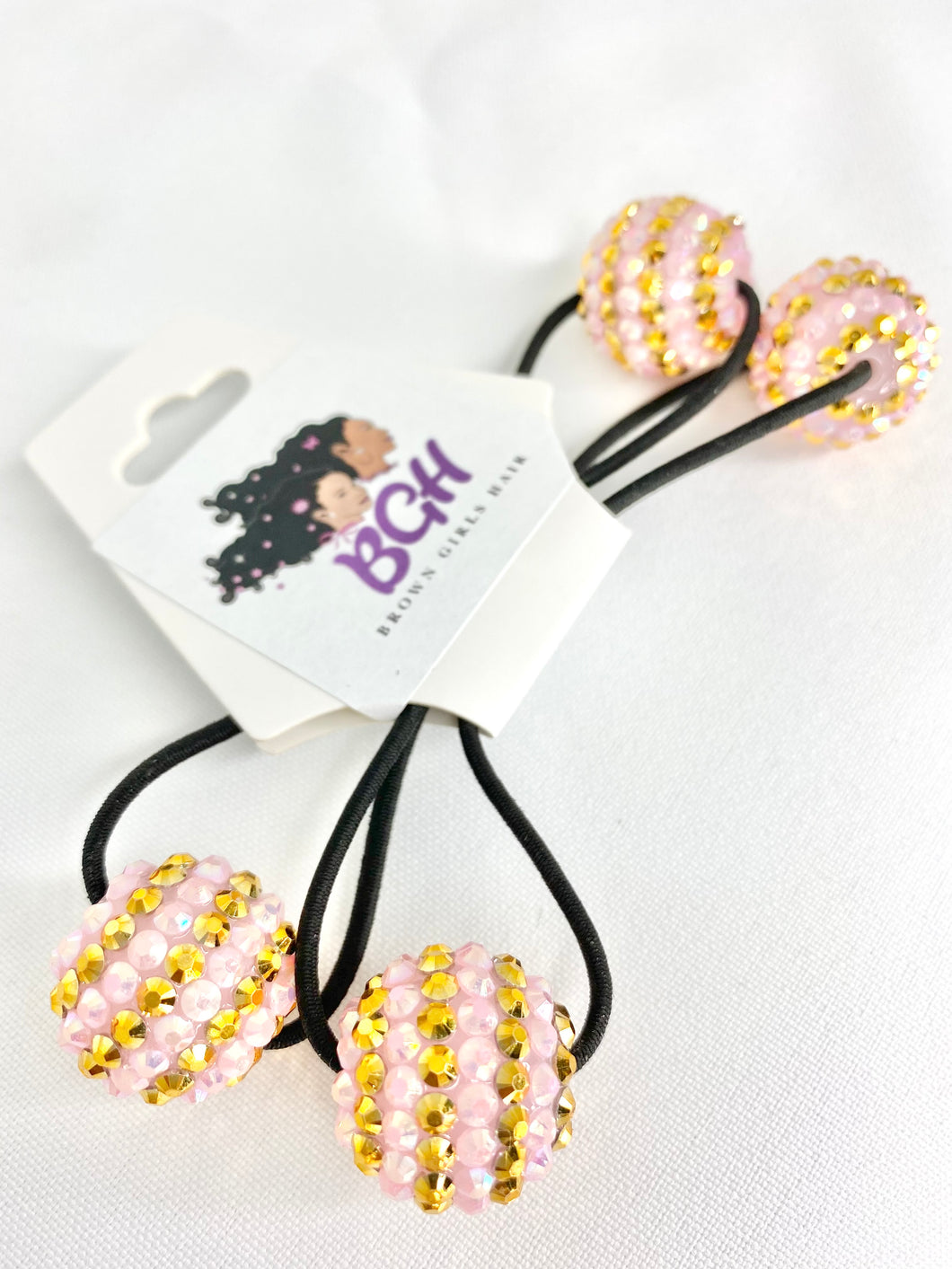 Bling Stripes Ballies | Hair Knockers Bobbles