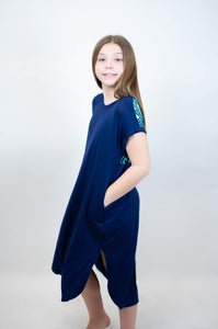 Kids Dress Aztec