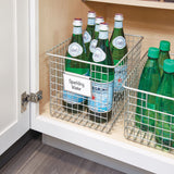 Bin Clip Label Holder, sølv - 3pk