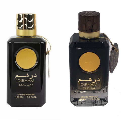 Dirham gold (His/Her) + Dirham Oud (His /Her)