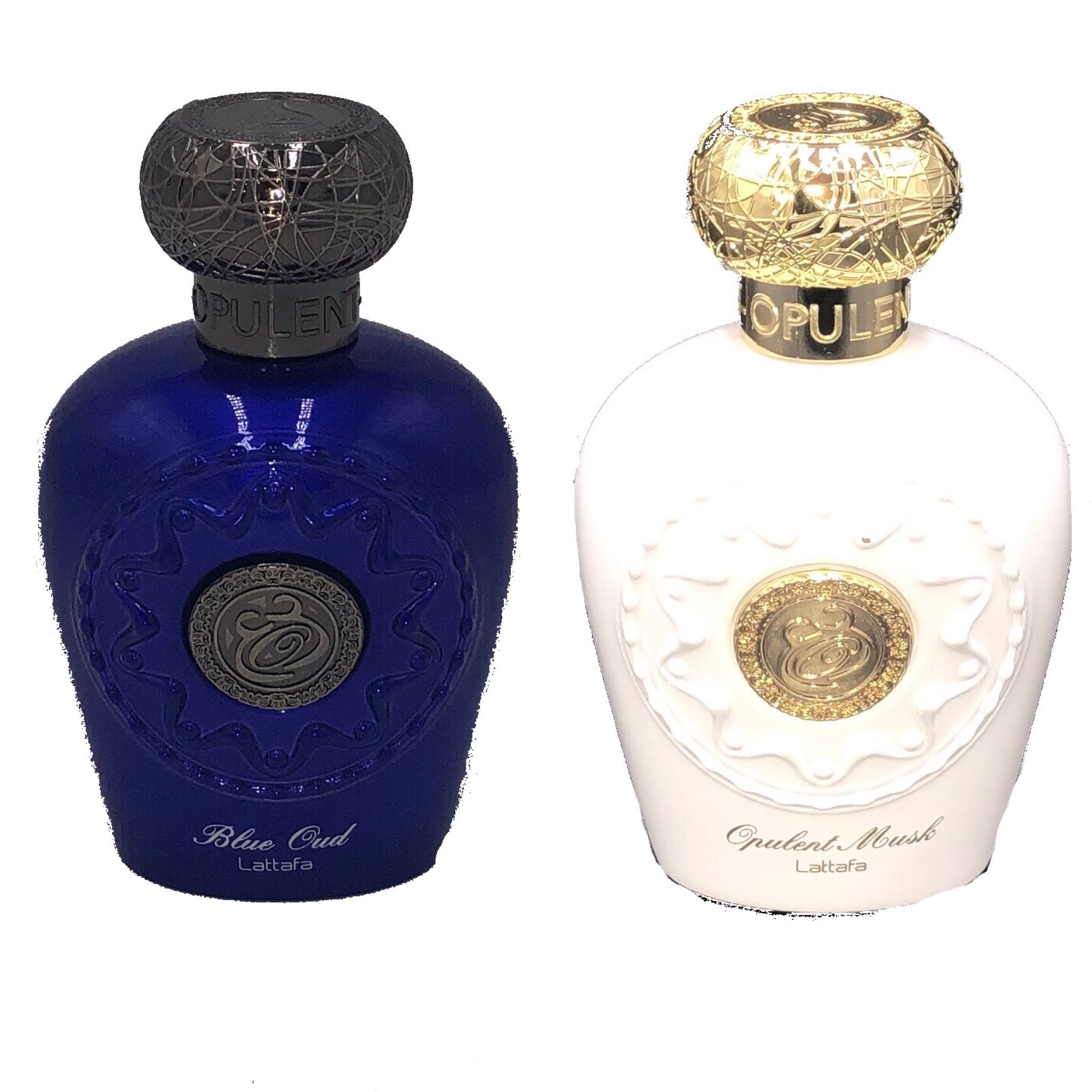 Blue Oud (Him) + Opulent Musk