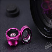 Fisheye Lens Wide Angle Macro Kits Mobile Phone Shooting set3 in 1Fish Eye Lenses with Clip For iPhone Samsung etc mobile phones-thumbnail