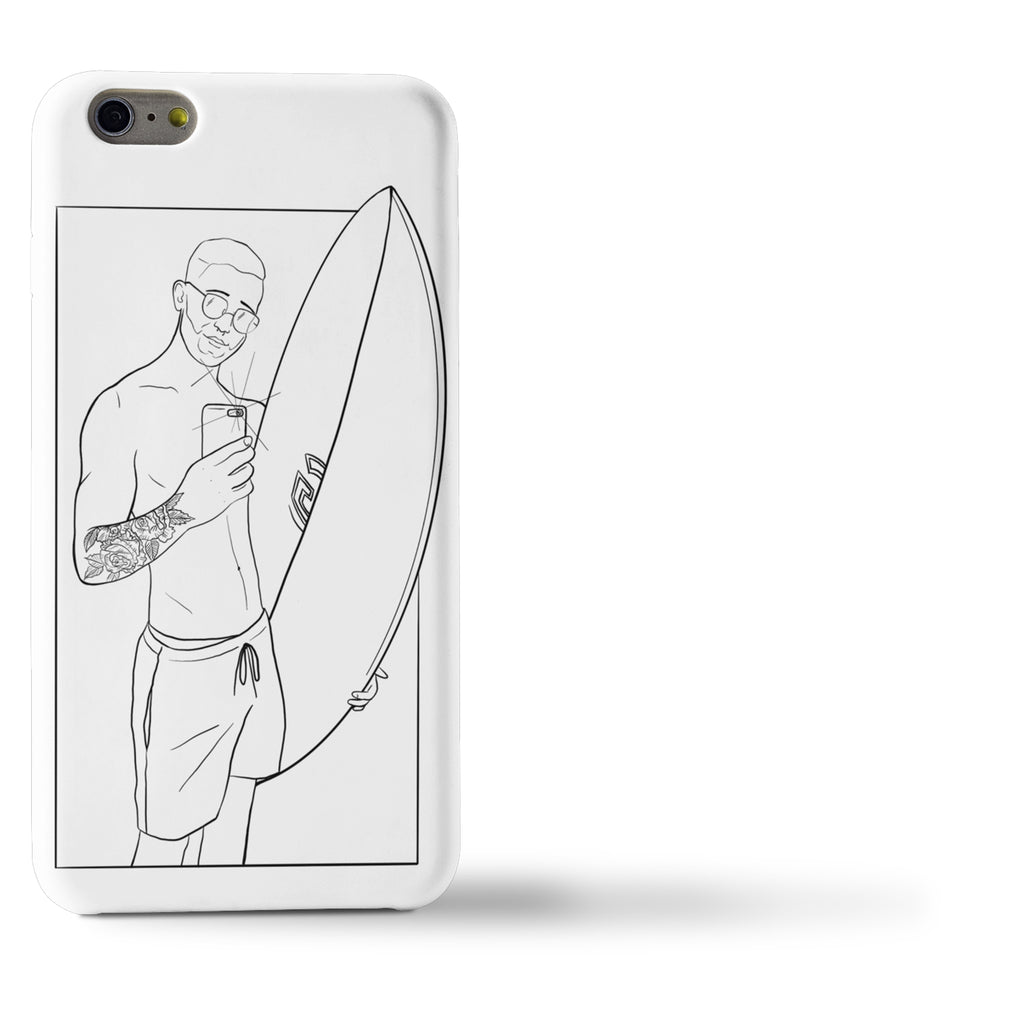Personalized phone case - Sharks Studio