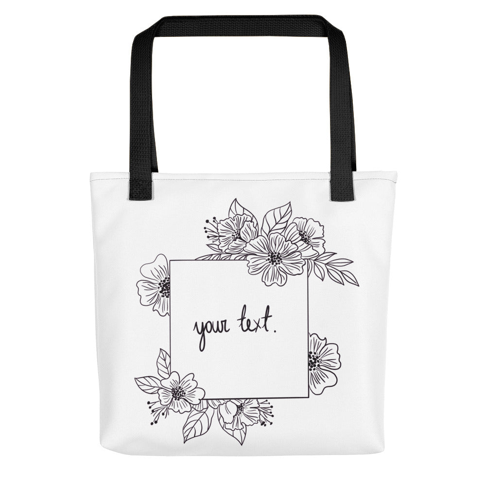 Personalized tote bag - Sharks Studio