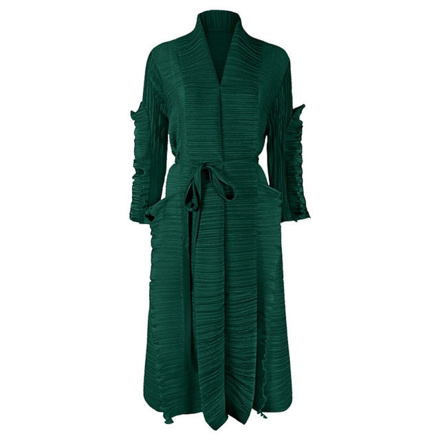 Pleated Coat