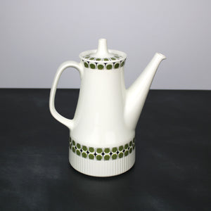 Figgjo Flint Sputnik Atomic Green Mid-Century Modern Coffee Pot