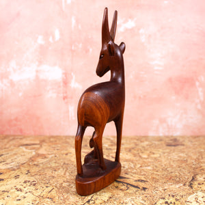 Teak Antelope or Gazelle with Calf