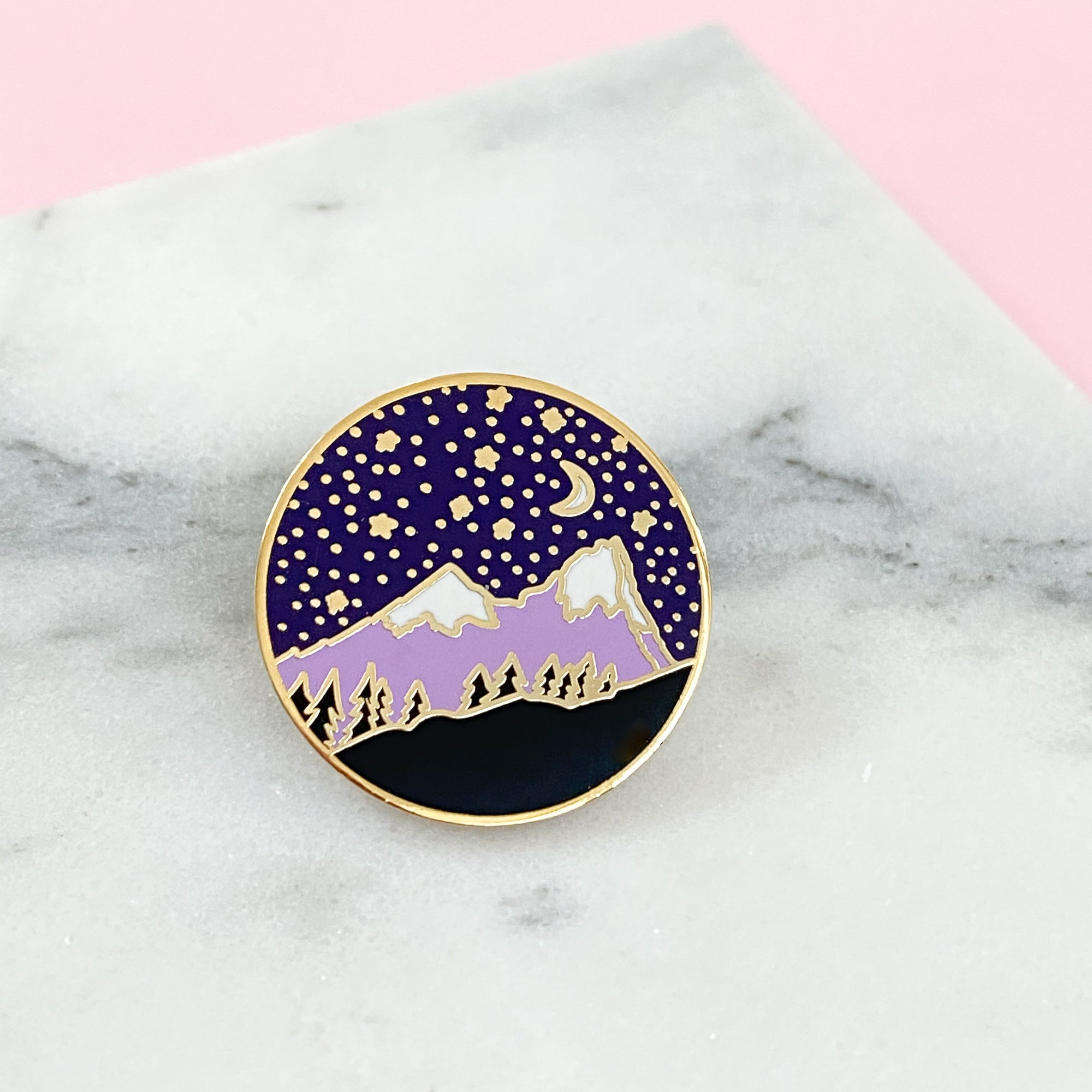 Mountain Enamel Pin
