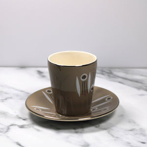 Kon Tiki Cup and Saucer by Palissy