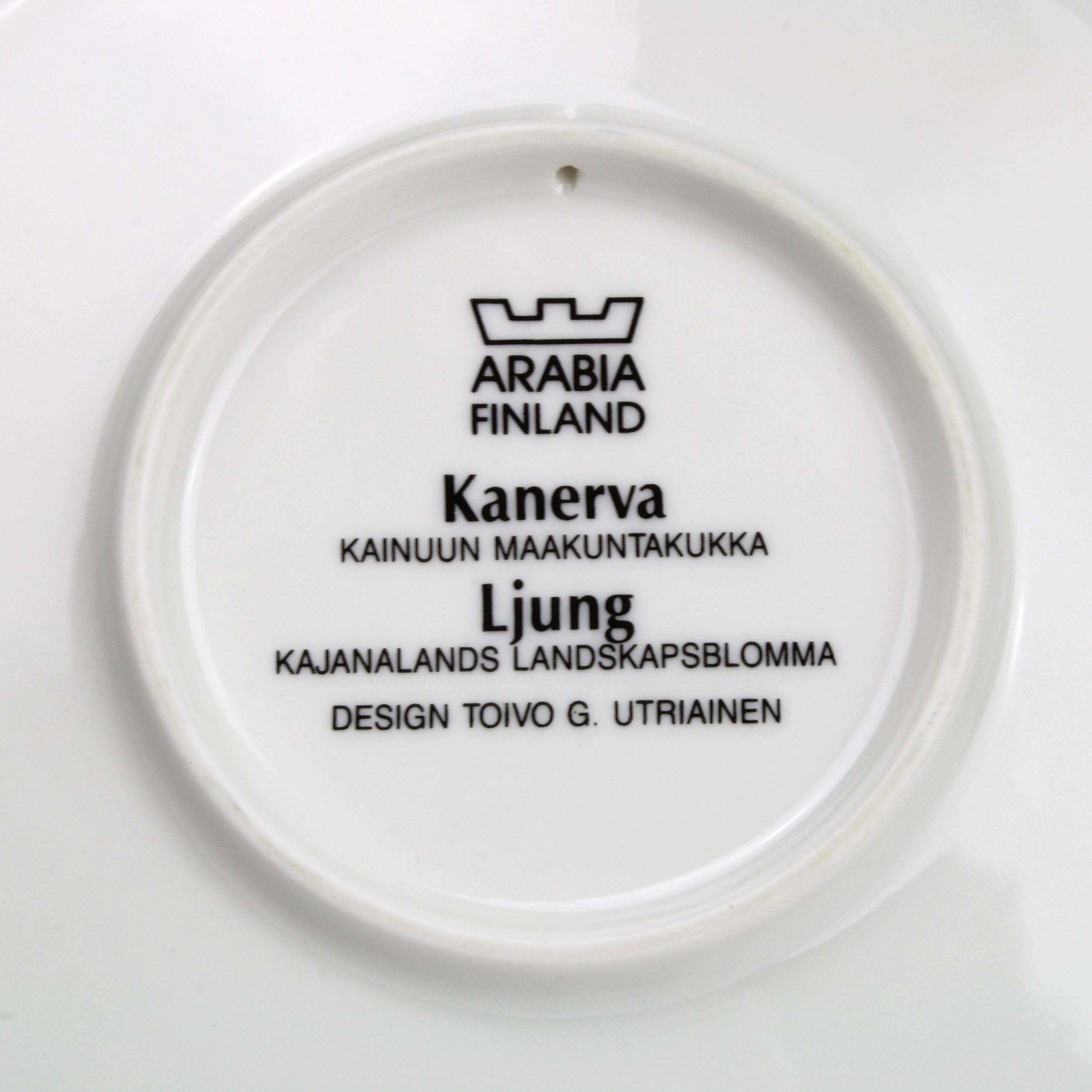 Arabia Finland Display Plate