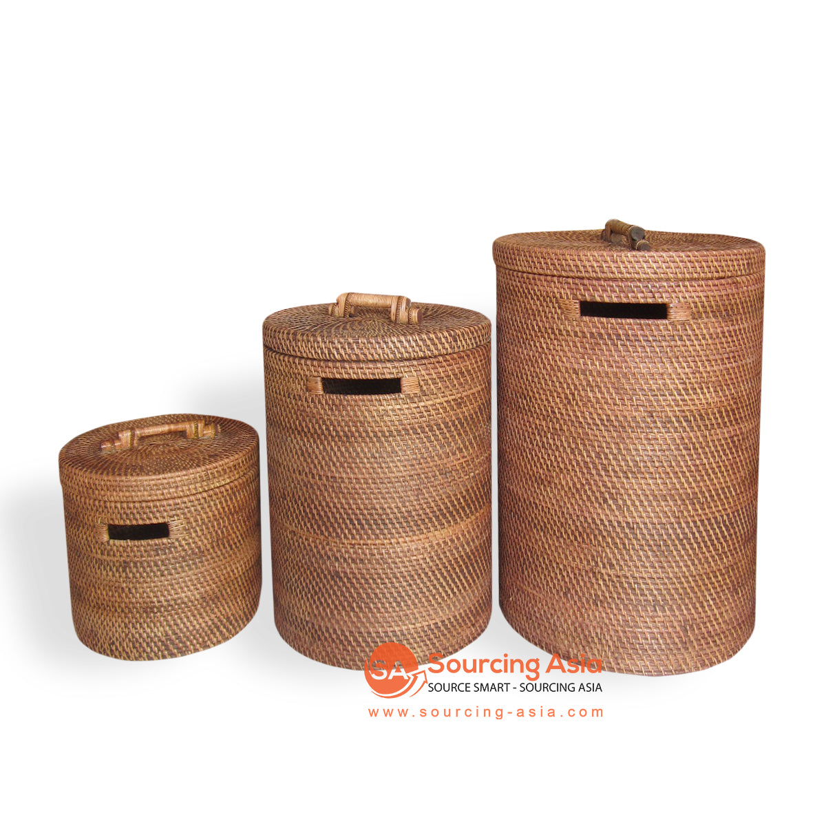ALI030 SET OF 3 LAUNDRY BASKETS