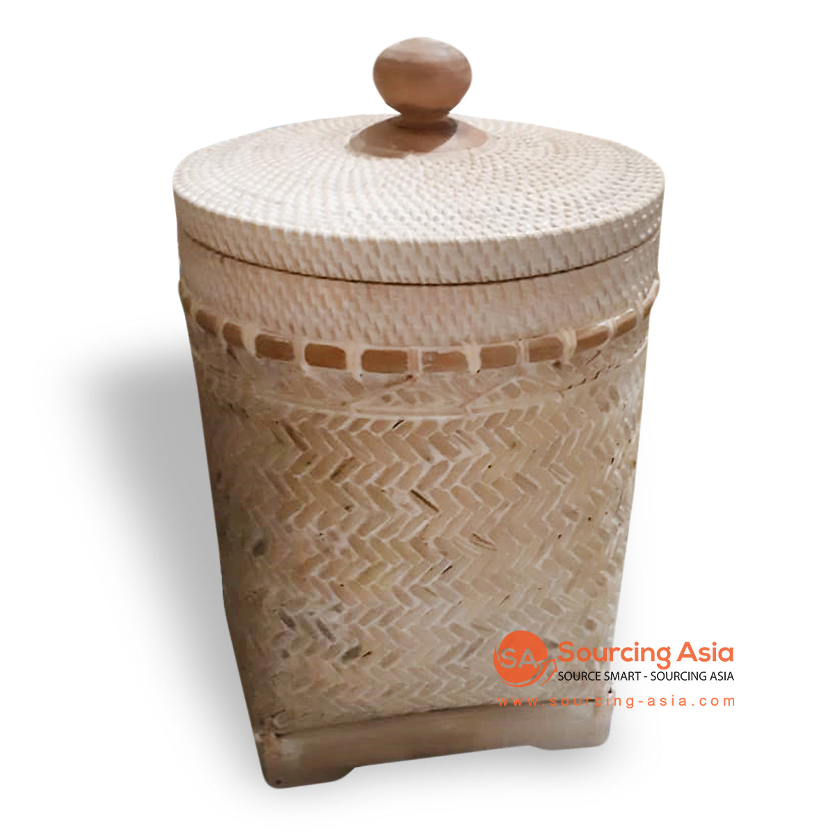 ALI073 NATURAL WOVEN LAUNDRY BASKET