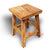AYA003-16 RECYCLED TEAK WOOD SQUARE STOOL