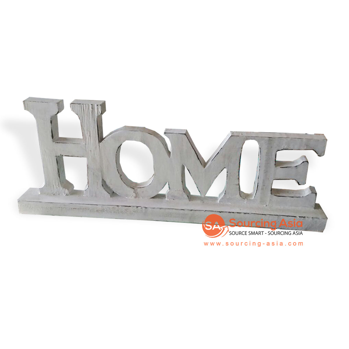 "BLI007 WOODEN DECORATION SIGN ""HOME"""