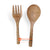 BMW100 WOODEN SPOON AND FORK