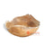 BMW123-5 WOODEN TEAK ROOT BOWL