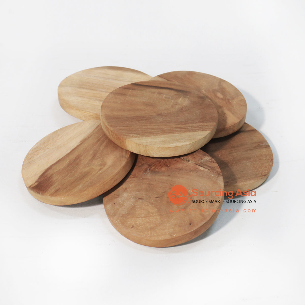 BMWC029 TEAKWOOD COASTERS