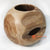 BMWC034 NATURAL TEAK ROOT BALL VASE