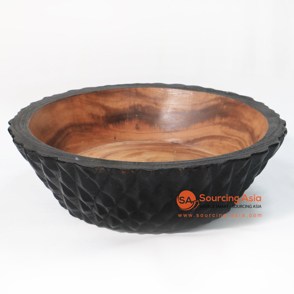 BMWC054 SUAR WOOD SERVING BOWL