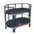BNT041-1 RATTAN BAR TROLLEY