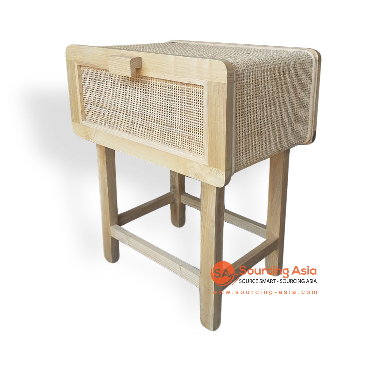 BNT201 BEDSIDE TABLE RATTAN