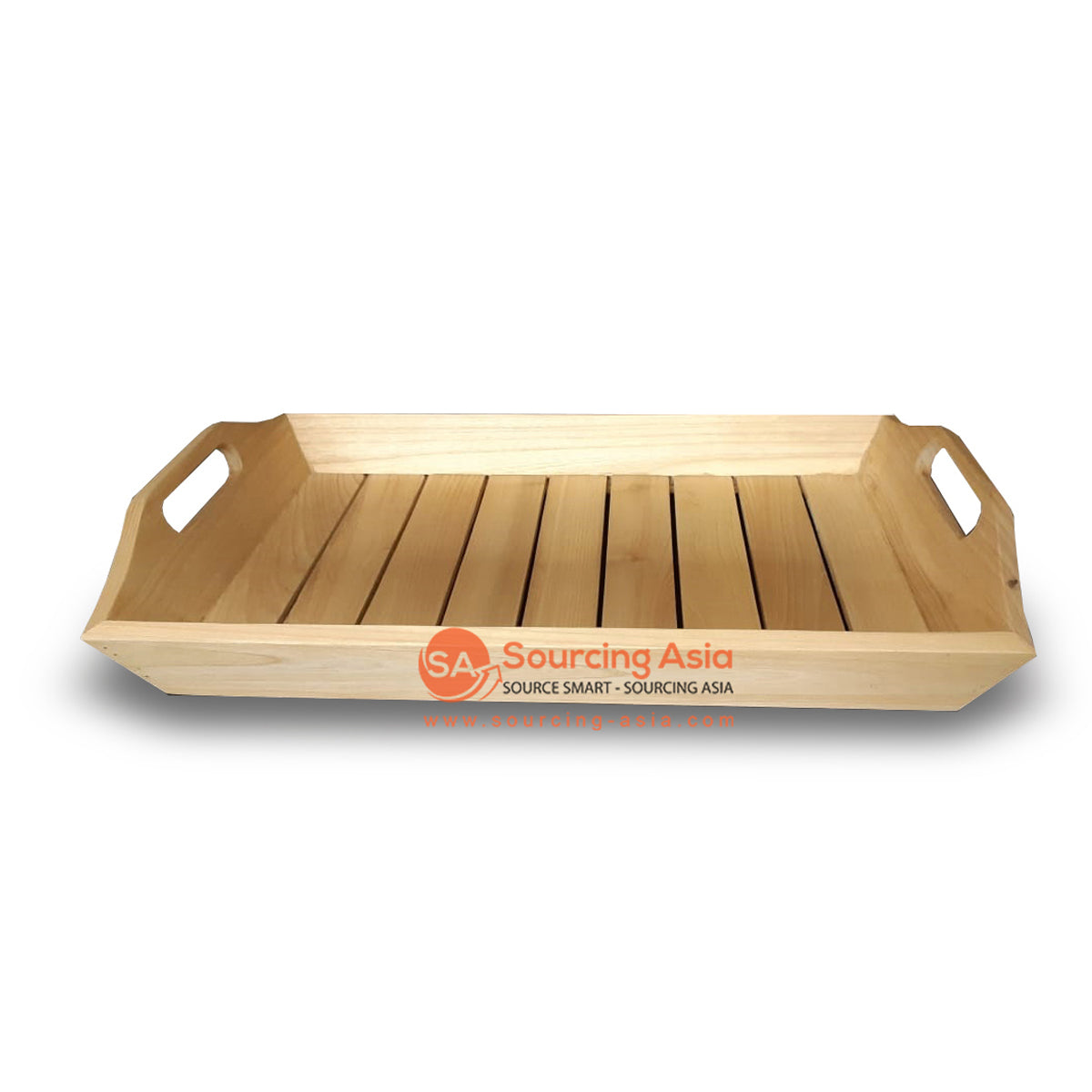 BNT216NAT NATURAL SUNGKAI WOOD TRAY
