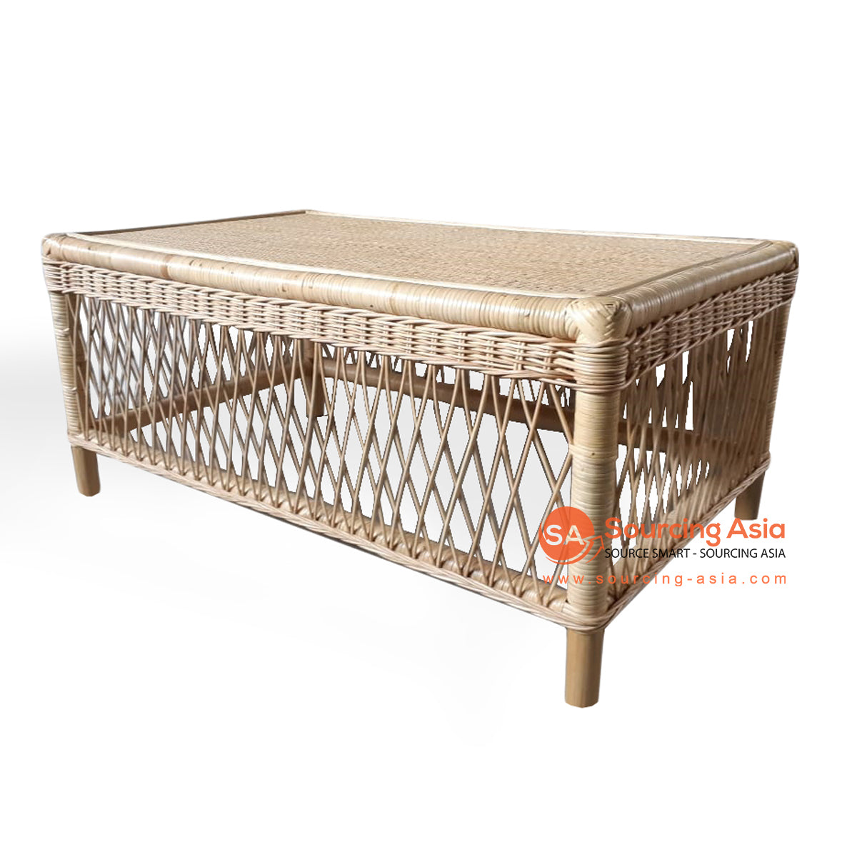 BNT234 RATTAN COFFEE TABLE