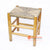 BNTC001-23 SEA GRASS TOP WOVEN BAR STOOL