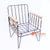 BNTC001-26 METAL AND RATTAN DINING CHAIR