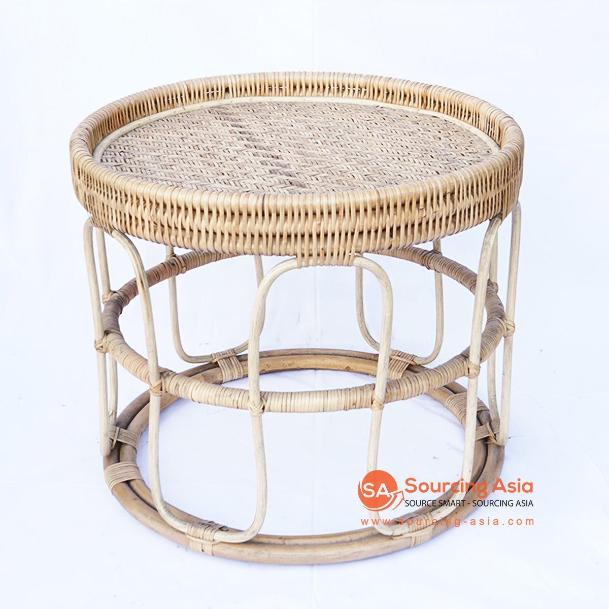 BNTC004-6 RATTAN SIDE TABLE TRAYS