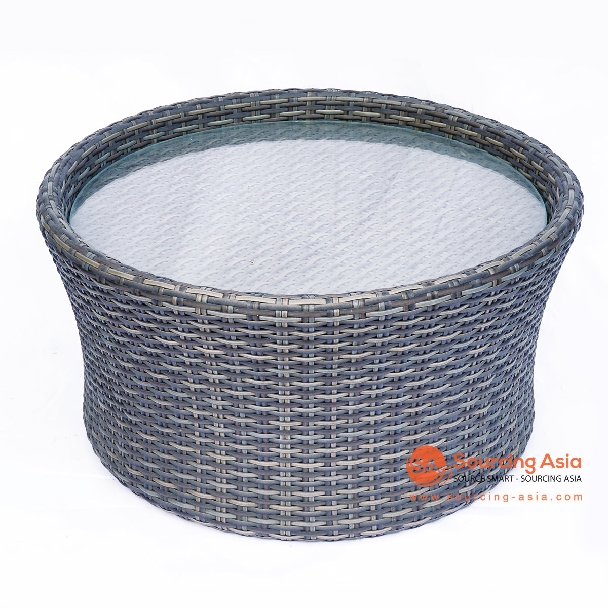 BNTC005-1 ROUND SYNTHETIC RATTAN TRAY TABLE