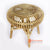 BNTC006-10 UFO GAPED RATTAN SIDE TABLE