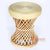 BNTC006-11 ROUND TWIST RATTAN SIDE TABLE CLOSED TOP