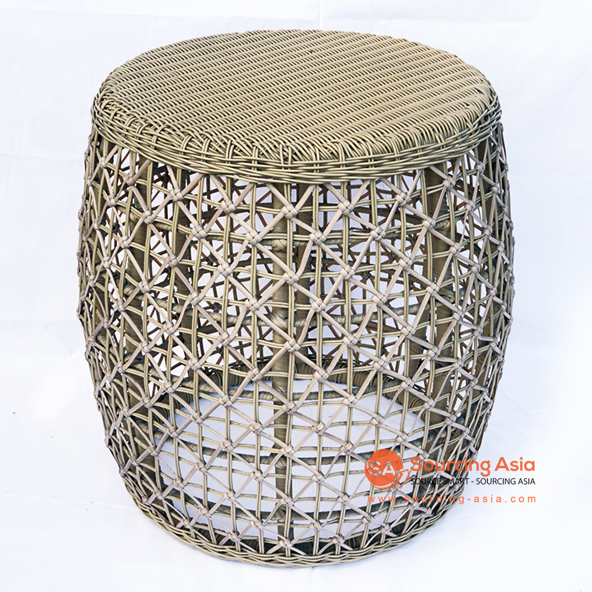 BNTC006-2 SYNTHETIC RATTAN ROUND SIDE TABLE
