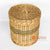 BNTC007-6 RATTAN LAUNDRY BASKET WITH LID