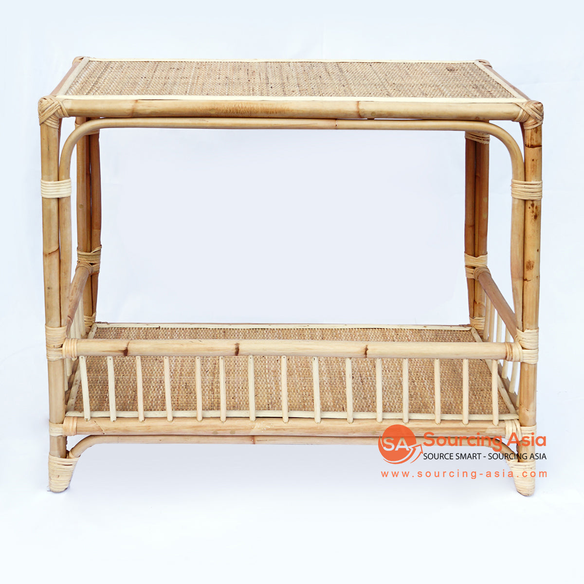 BNTC014 RATTAN SIDE TABLE