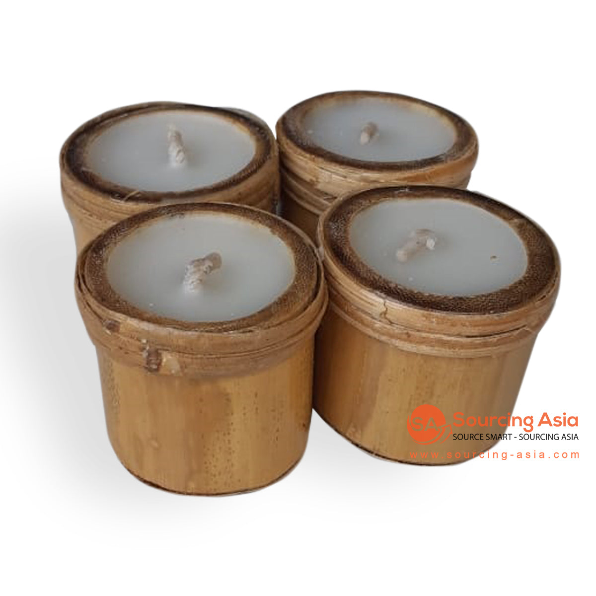 BSC021-1 SET OF 4 CANDLE HOLDER
