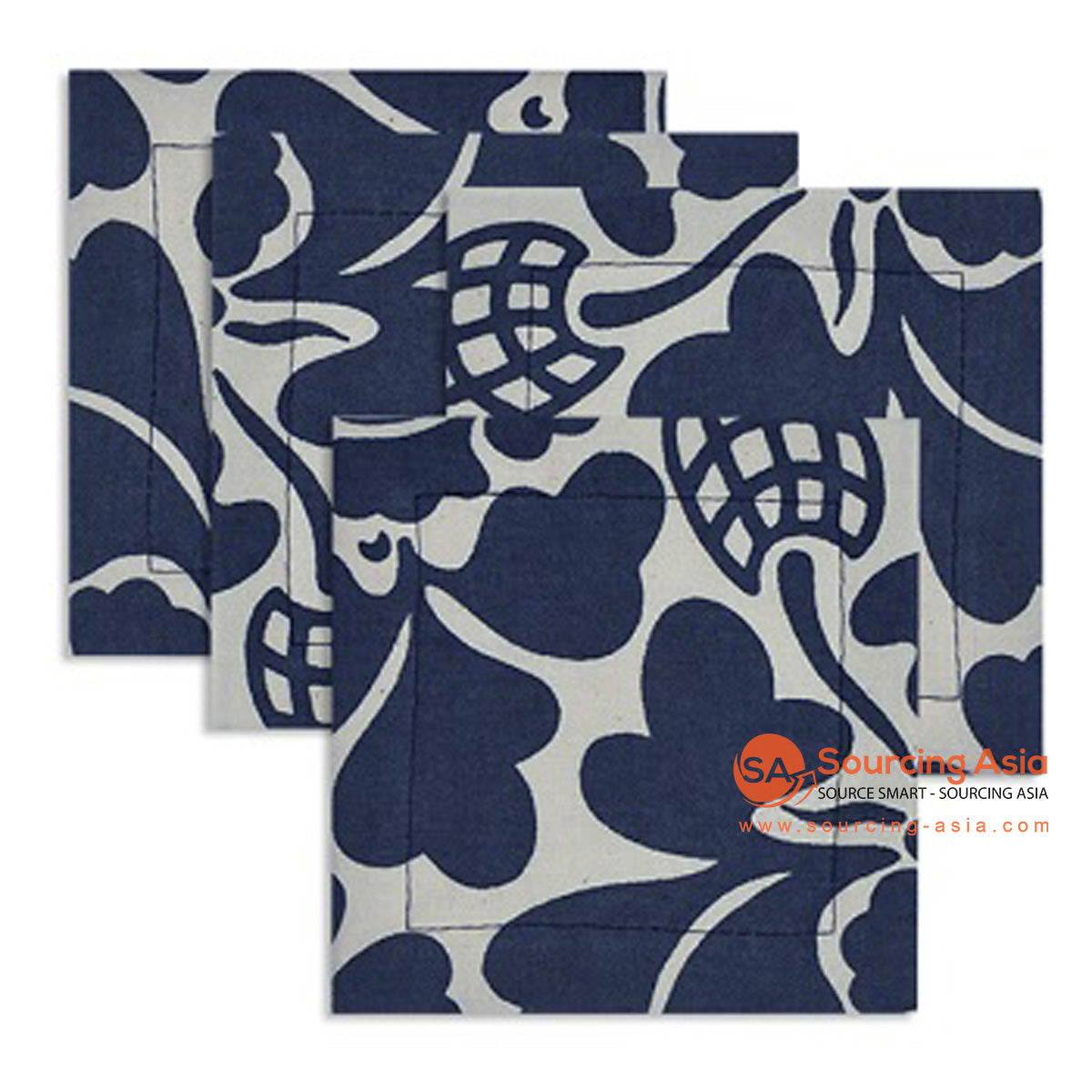 BZN006-1 COTTON PRINTED COASTER