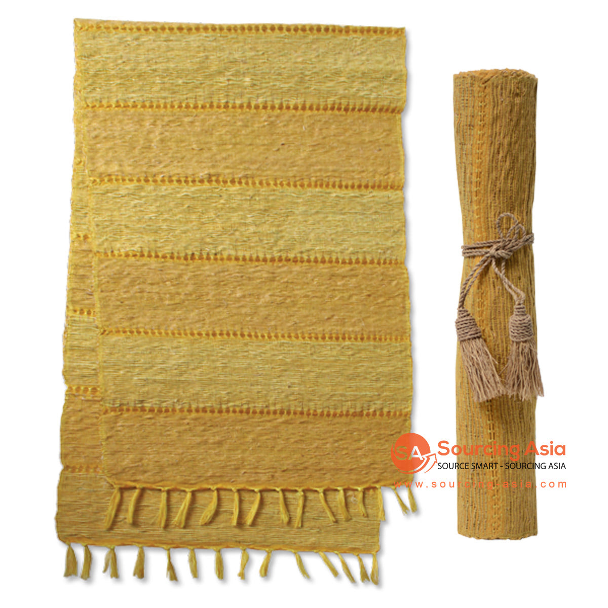 BZN037-3 SANDALWOOD TABLE RUNNER