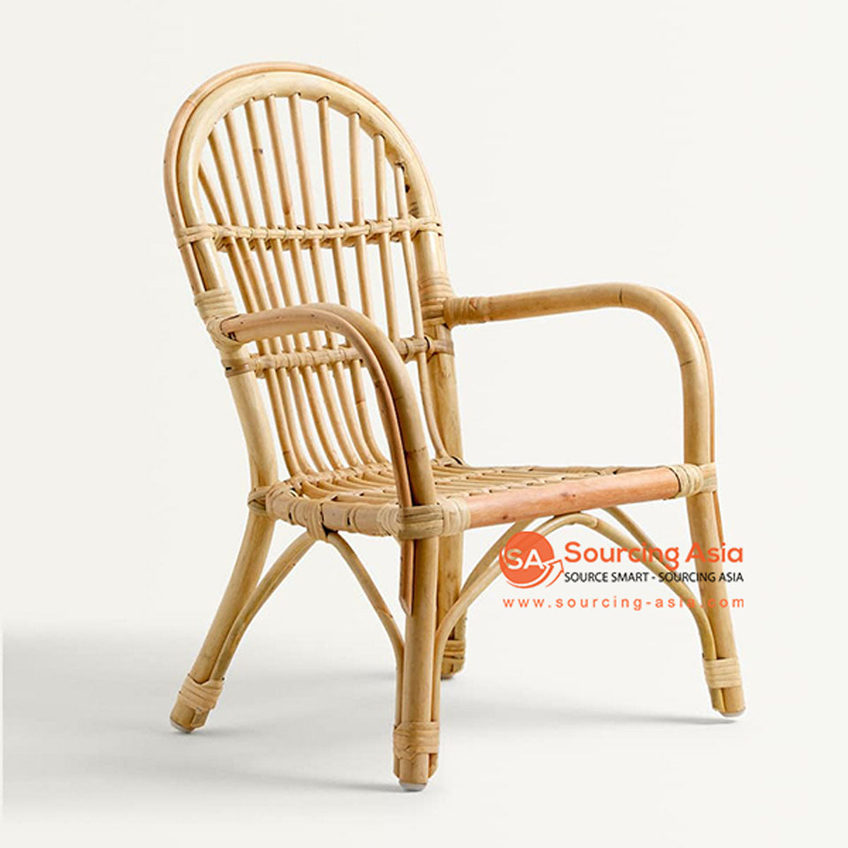 SHL099 - NATURAL UPHOLSTERED DESIGN ARMCHAIR