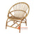 SHL107 - NATURAL UPHOLSTERED DESIGN ARMCHAIR