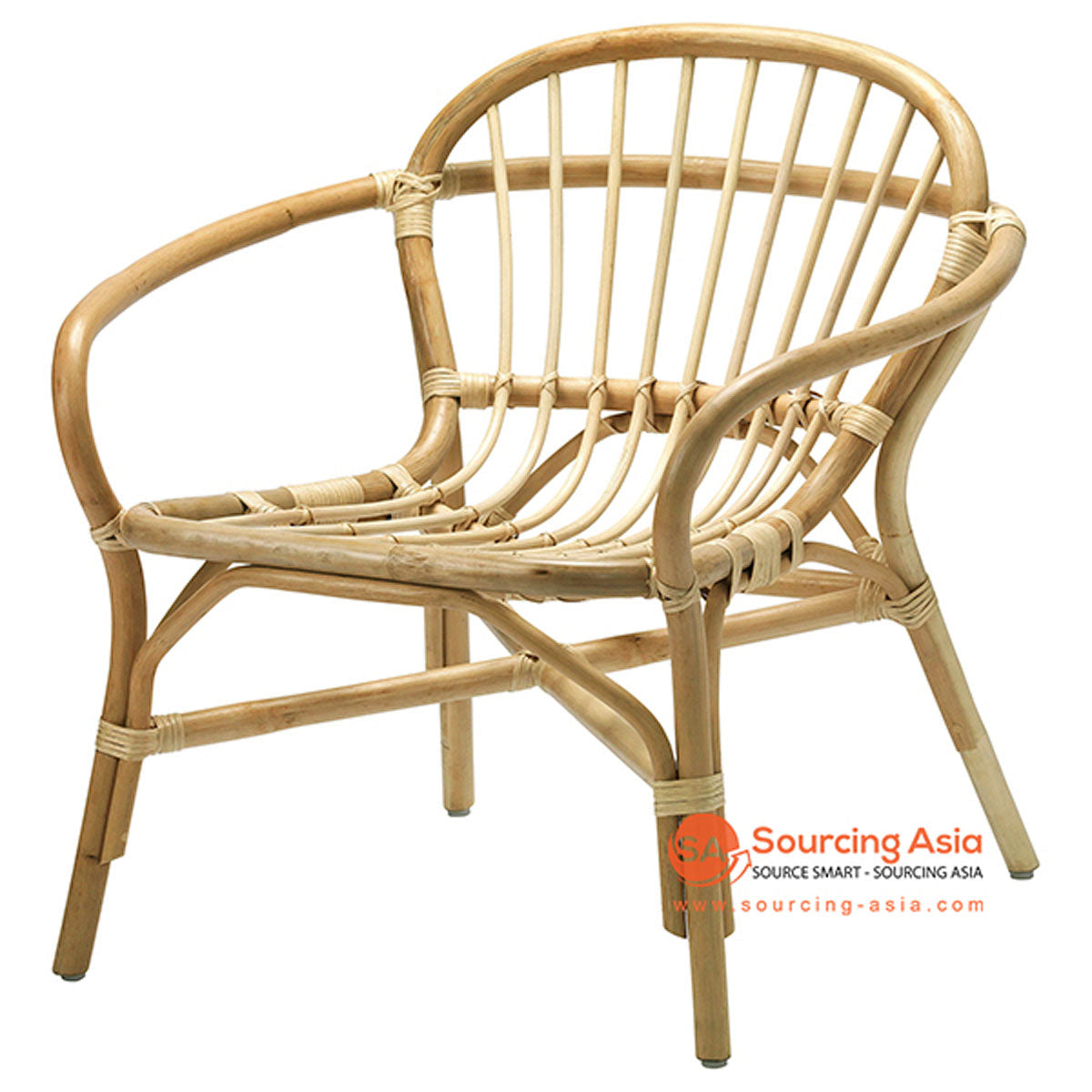 SHL110 - NATURAL UPHOLSTERED DESIGN ARMCHAIR
