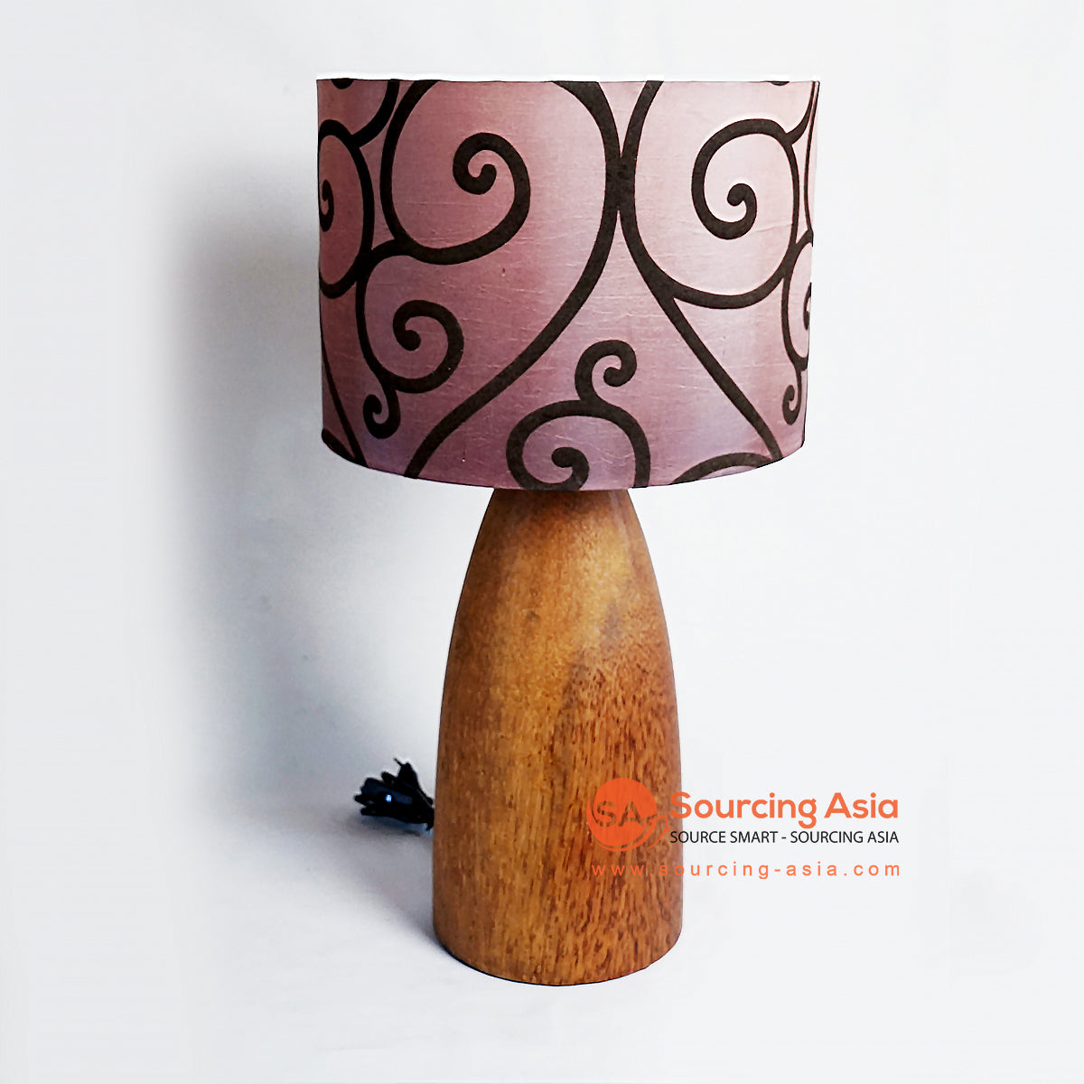CHKC018 WOODEN TABLE LAMP