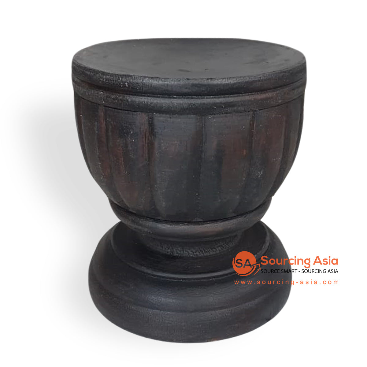 CHWD007-2 ALBESIA WOOD CANDLE HOLDER