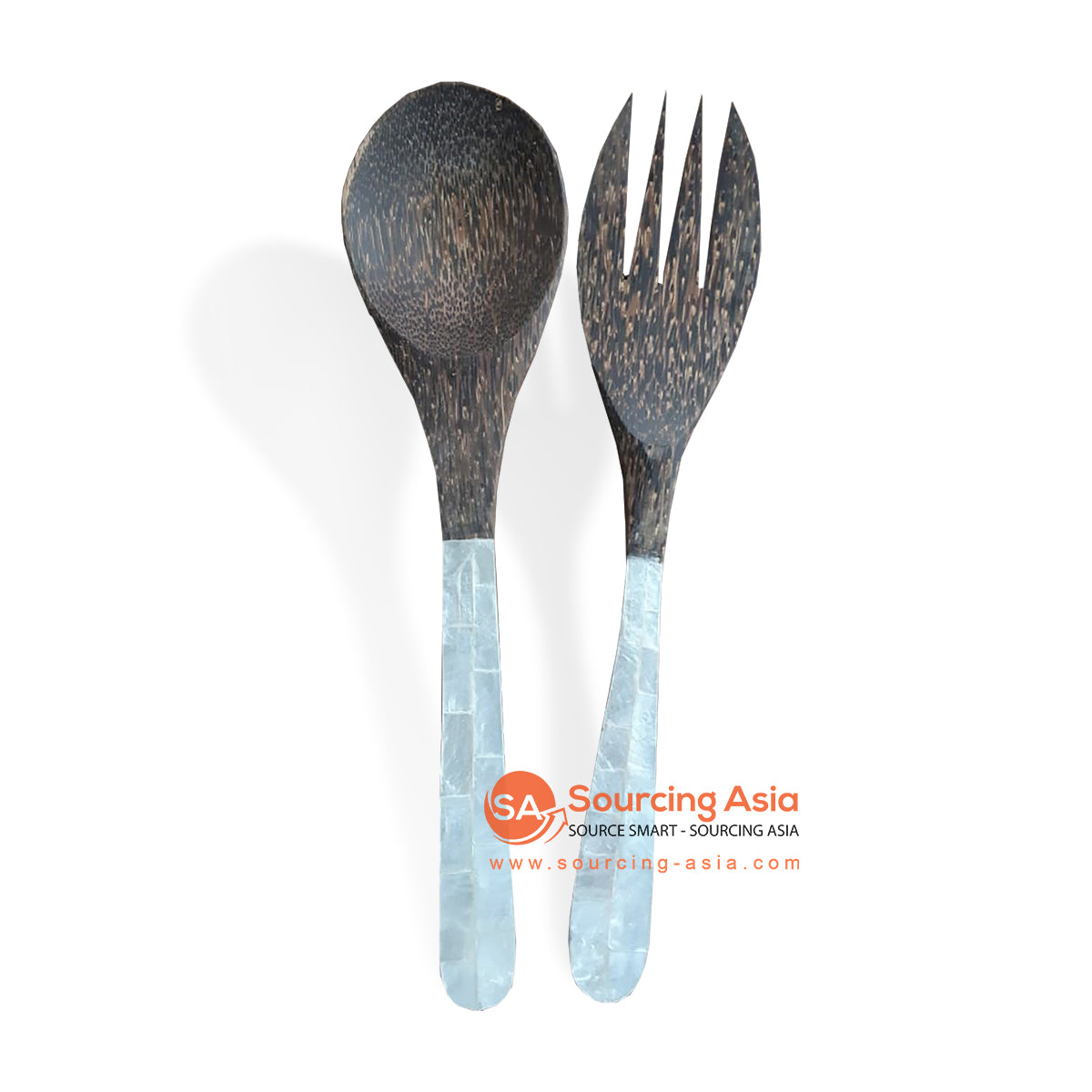 CNT004 WOODEN SPOON AND FORK
