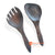 CNT006 WOODEN SPOON AND FORK