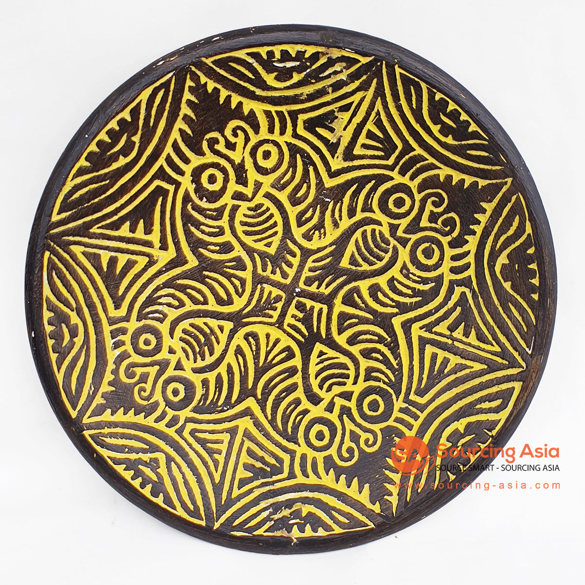 DGPC006-2 ETHNIC TRIBAL PLATE DECORATION