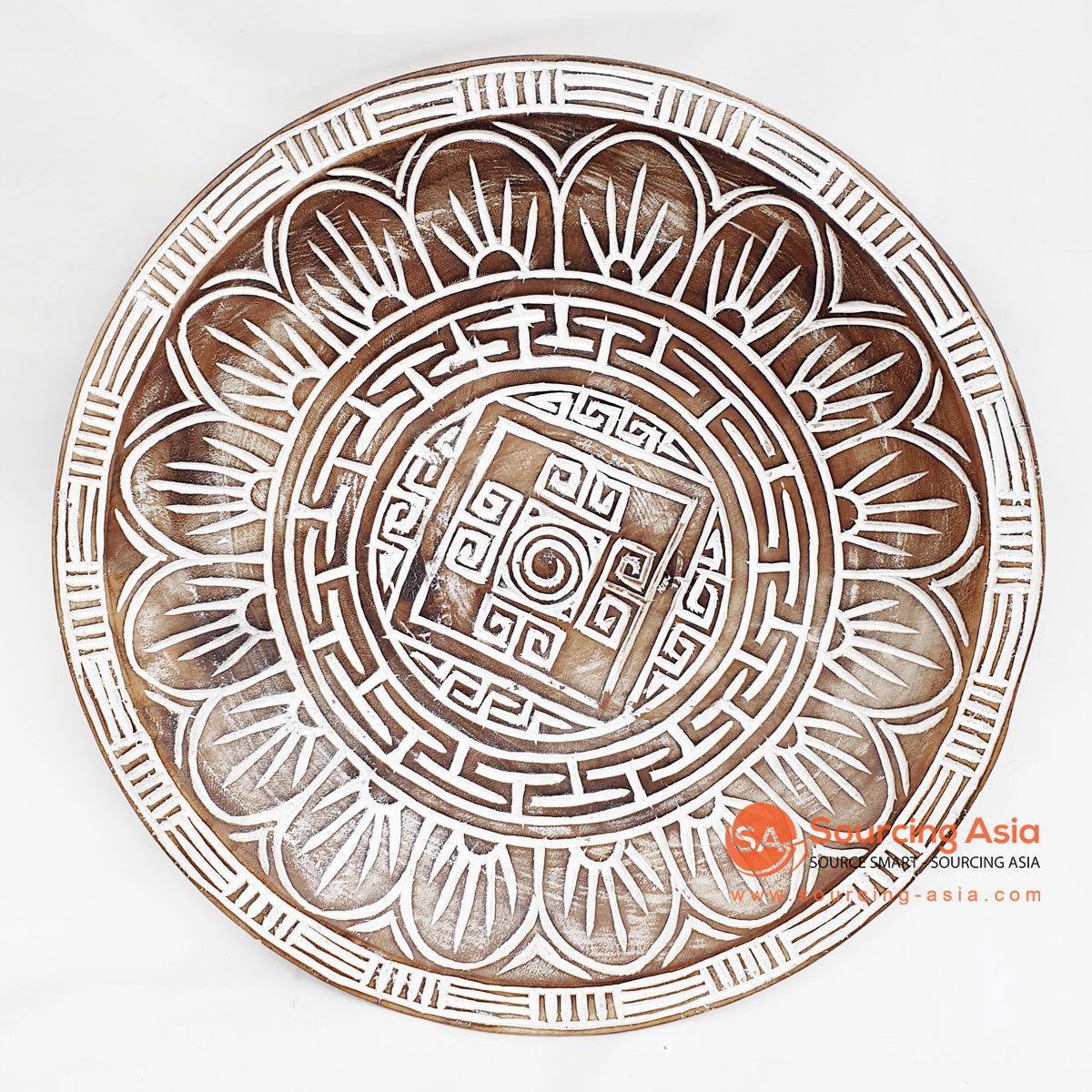 DGPC006-3 ETHNIC TRIBAL PLATE DECORATION