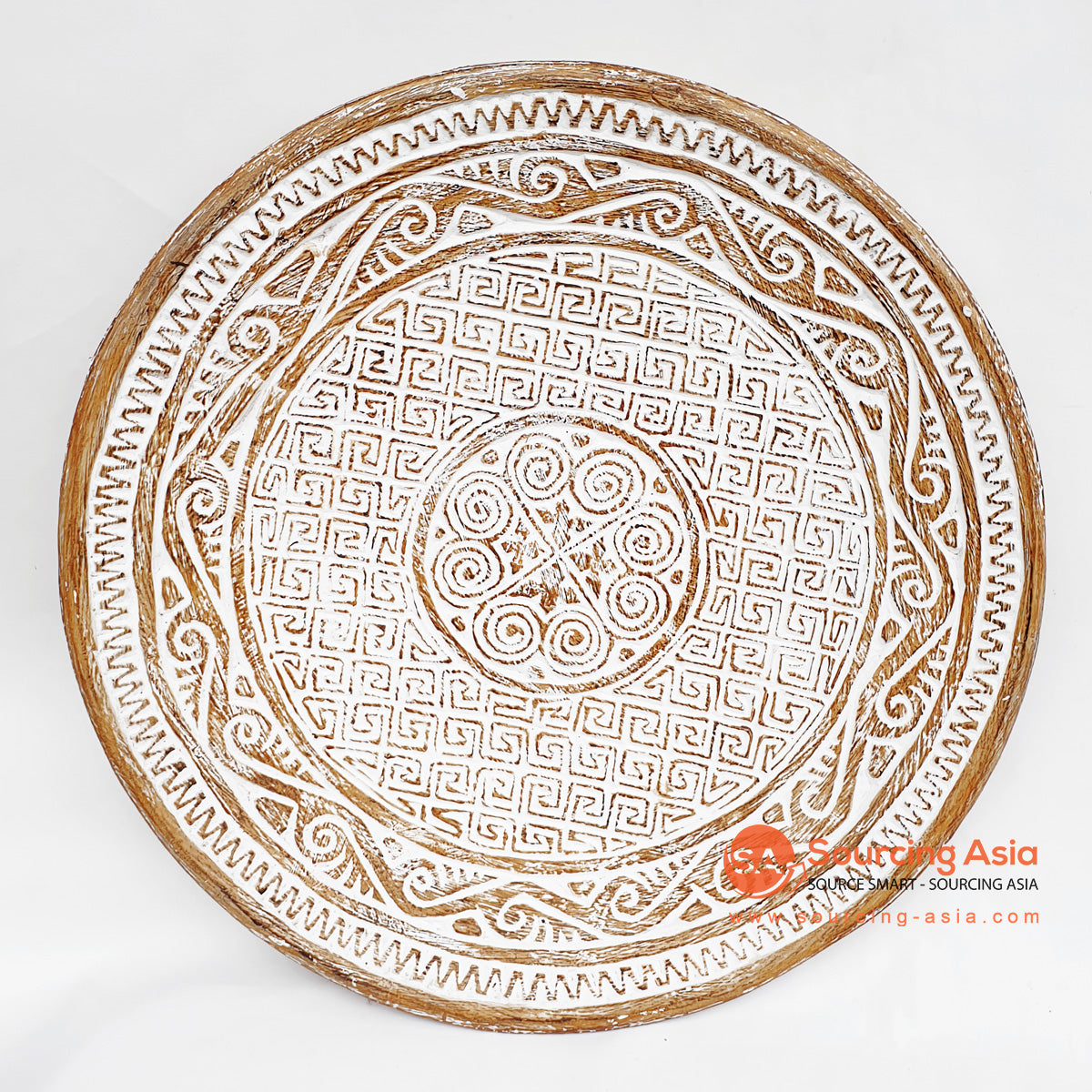 DGPC006-4 ETHNIC TRIBAL PLATE DECORATION