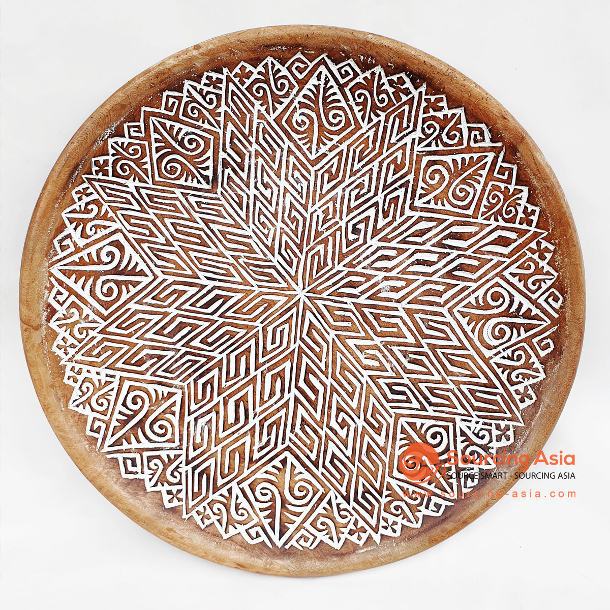 DGPC006-5 ETHNIC TRIBAL PLATE DECORATION